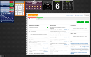 Freedcamp Dashboard