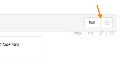 Removed Delete button in a sticky header