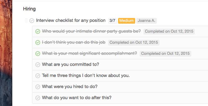 sub-tasks-List