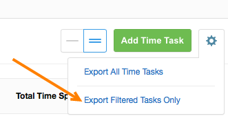 Export Filtered Results