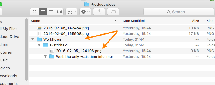 Freedcamp downloaded ZIP file