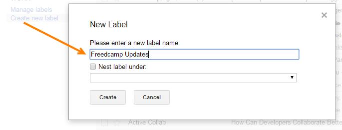 Create Label