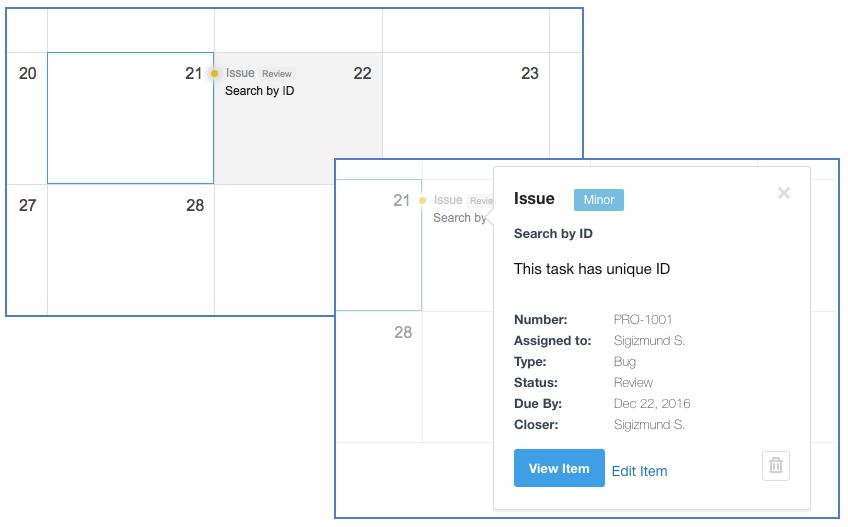 isssue-in-calendar